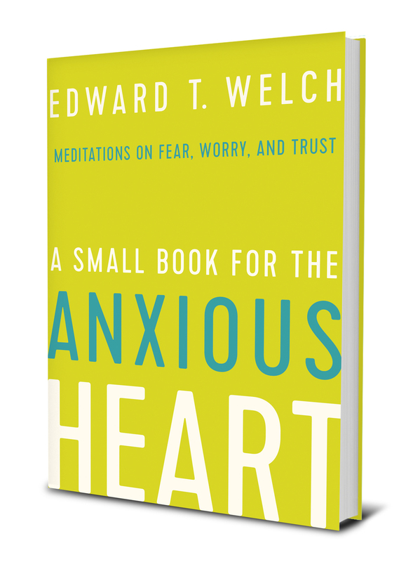 A Small Book for the Anxious Heart (Book Cover)