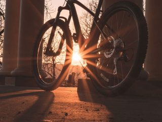 bicycle sunlight