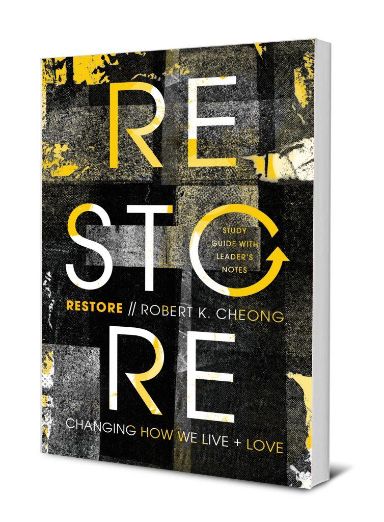 Restore book cover