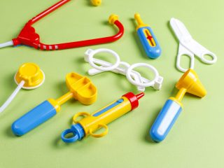 child's medical toys
