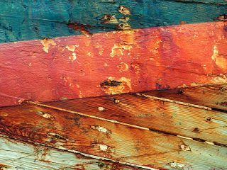 distressed wood